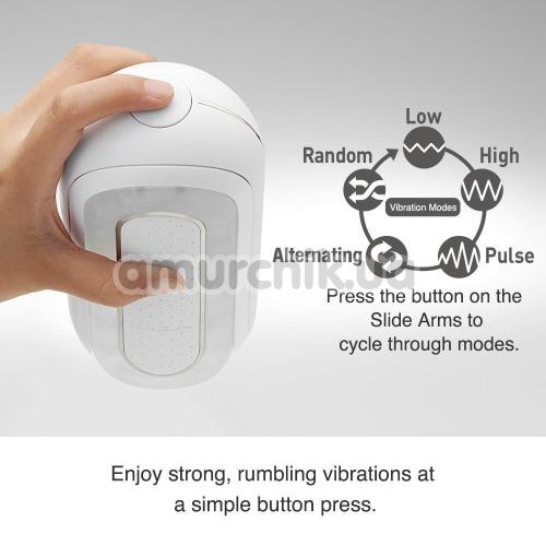 Мастурбатор Tenga Flip Zero Electronic Vibration, прозрачный