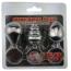 Набор из 3 анальных пробок Mini Anal Plug Butt Plug Training Kit, серебряный - Фото №4