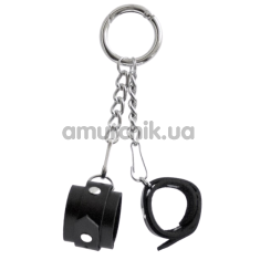 Брелок Feral Feelings наручники, черный - Фото №1