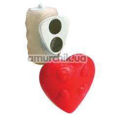 Клиторальный вибратор Vibrating Panty Pal Heart - Фото №1
