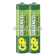 Батарейки GP Greencell Extra Heavy Duty ААА, 2 шт