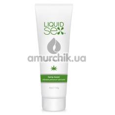 Лубрикант с возбуждающим эффектом Liquid Sex Hemp Boost Infused Personal Lubricant, 118 мл
