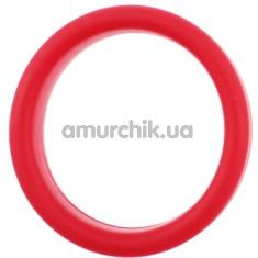 Эрекционное кольцо Brazzers HS008, красное - Фото №1