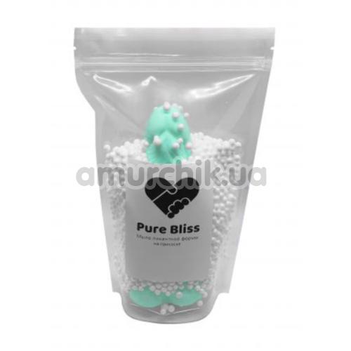Мыло в виде пениса с присоской Pure Bliss L, бирюзовое