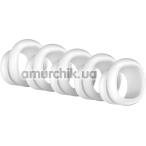 Набор насадок на симулятор орального секса для женщин Satisfyer Pro Penguin, белый - Фото №1