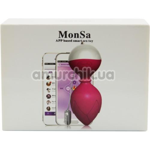Вагинальные шарики Monsa, фиолетовые