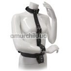 Бондажный набор Blaze Luxury Fetish Body Restraint With Collar And Cuffs, черный - Фото №1