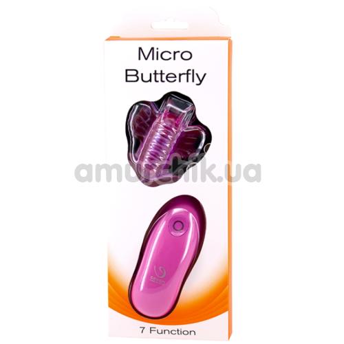 Вибратор-бабочка Micro Butterfly, фиолетовый