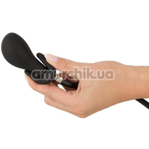 Анальный расширитель Inflatable Plug, черный