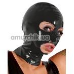 Латексная маска Latex Kopfmaske, черная - Фото №1