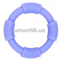 Эрекционное кольцо M-Mello Rope Ring, фиолетовое - Фото №1