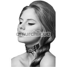 Ошейник Bijoux Pour Toi Lacet, чёрный - Фото №1
