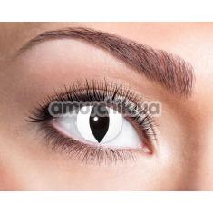Линзы для глаз Catcher Contactlenses, белые - Фото №1