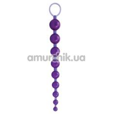 Купить Анальная цепочка Sex Please! Sexy Beads, фиолетовая