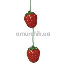 Вагинальные шарики Straw-berry Loveballs - Фото №1
