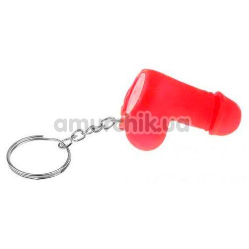 Брелок в виде пениса Dicky Keychain, красный