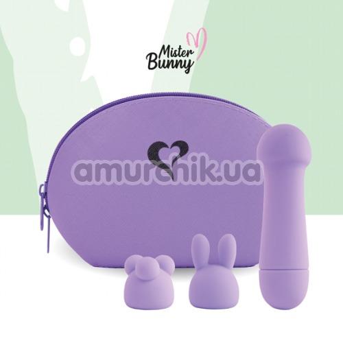 Клиторальный вибратор FeelzToys Mister Bunny, фиолетовый
