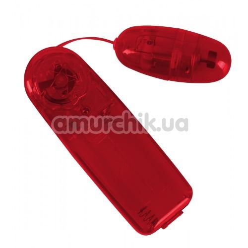 Виброяйцо Vibrating Bullet in Red, красное