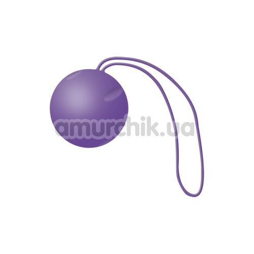 Вагинальный шарик Joyballs Single, фиолетовый - Фото №1