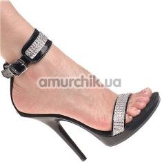 Босоножки со стразами Sandals (модель 1405) - Фото №1