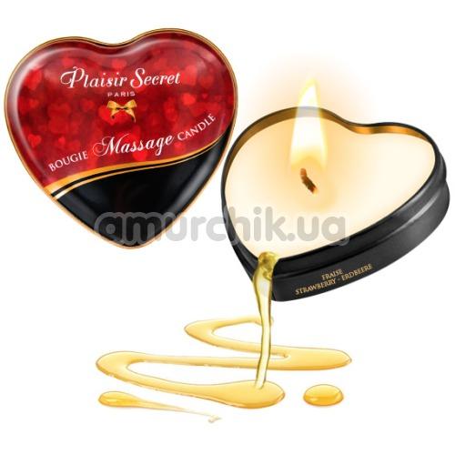 Массажная свеча Plaisir Secret Paris Bougie Massage Coconut - кокос, 35 мл
