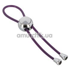 Эрекционное кольцо Cock & Ball Loop, фиолетовое - Фото №1