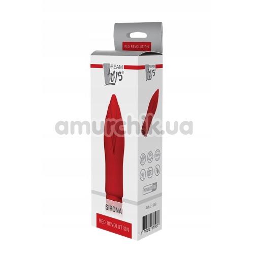 Клиторальный вибратор Red Revolution Sirona, красный