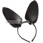 Ушки Зайчика DS Fetish, черные - Фото №1