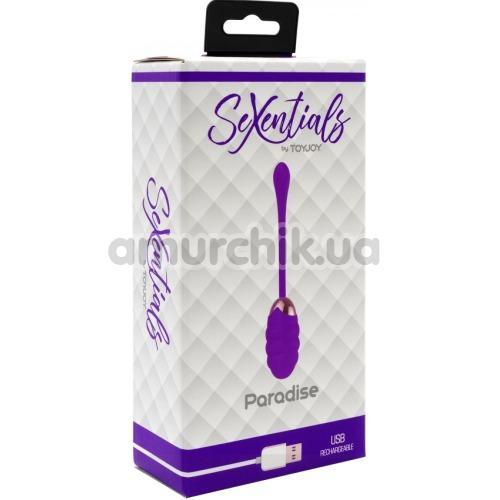 Виброяйцо SeXentials Paradise, фиолетовое