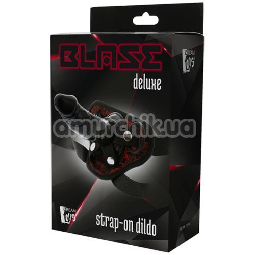 Страпон Blaze Deluxe Strap-On Dildo, черный