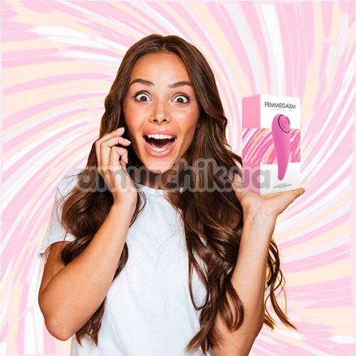 Вибратор с пульсацией FeelzToys FemmeGasm, розовый