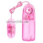 Виброяйцо 10015M, розовое