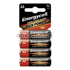 Батарейки Energycell High Power AA, 4 шт