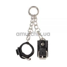 Брелок в виде наручников sLash Handcuffs, черный - Фото №1
