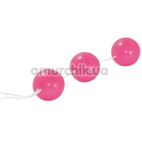 Анально-вагинальные шарики Sexual Balls, розовые