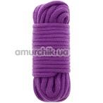 Веревка BondX Bondage Love Rope 10 м, фиолетовая - Фото №1