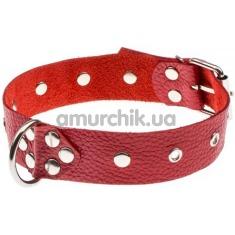 Ошейник Dominant Collar, красный - Фото №1