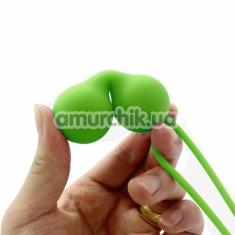 Вагинальные шарики Even Bolas Silicona, салатовые