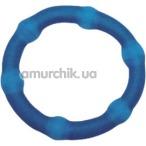 Эрекционное кольцо Cock Swellers, голубое