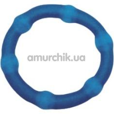 Эрекционное кольцо Cock Swellers, голубое - Фото №1