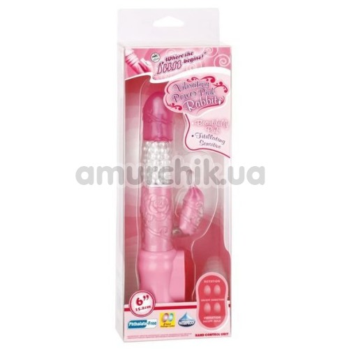 Вибратор Vibrating Power Pink Rabbit, розовый