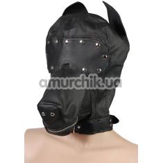 Маска собаки Пикантные Штучки, черная - Фото №1