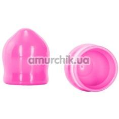 Вакуумные стимуляторы для сосков Nipple Play Mini Nipple Suckers, розовые - Фото №1