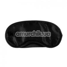 Маска на глаза Kinx Tease and Please Padded Blindfold, черная - Фото №1