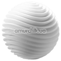 Мастурбатор Tenga Geo Aqua, белый - Фото №1