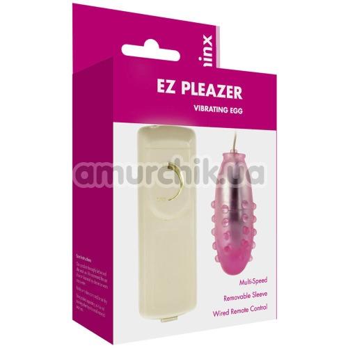 Виброяйцо Minx Ez Pleaser Vibrating Egg, розовое