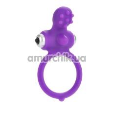 Виброкольцо Body&Soul Inspiration, фиолетовое - Фото №1