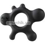 Эрекционное кольцо Fun Factory Rain, черное