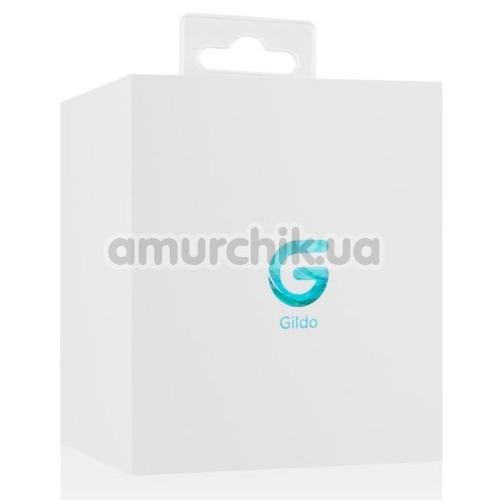 Анальная пробка Gildo Handmade Glass Buttplug No.23, голубая