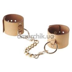 Наручники Bijoux Indiscrets Maze Wide Cuffs, коричневые - Фото №1